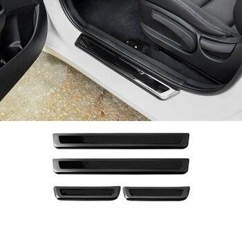 Otomatik Ayak Pedalı Otomobil Modifiye Krom Yükseltilmiş Kişiselleştirilmiş Araba Styling Kapakları Etiket Şerit 18 19 Hyundai Mistra IÇIN