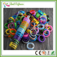 2018 factory wholesale customized vape silicone wristband ecig mod decorative and protective silicone vape band(China)