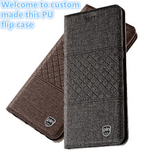 TZ11 PU leather phone bag with magnet in the lid for LG G6 phone case for