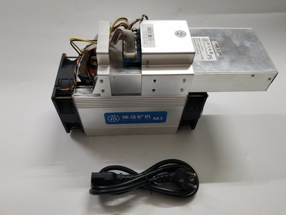 L'asic Bitcoin BTC BCC BCH Miner WhatsMiner M3X 11-12.5 T/S 0.18 kw/TH mieux que Antminer S9 S9i T9 WhatsMiner M3 11.5T E9 - 2