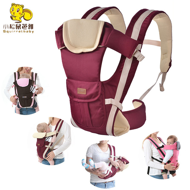 f97b2452b67 New 0-30 Months Carrying for children Breathable Baby Carrier Manduca  Chicco Backpack Hipseat Pouch Wrap Baby Kangaroo 4 in 1