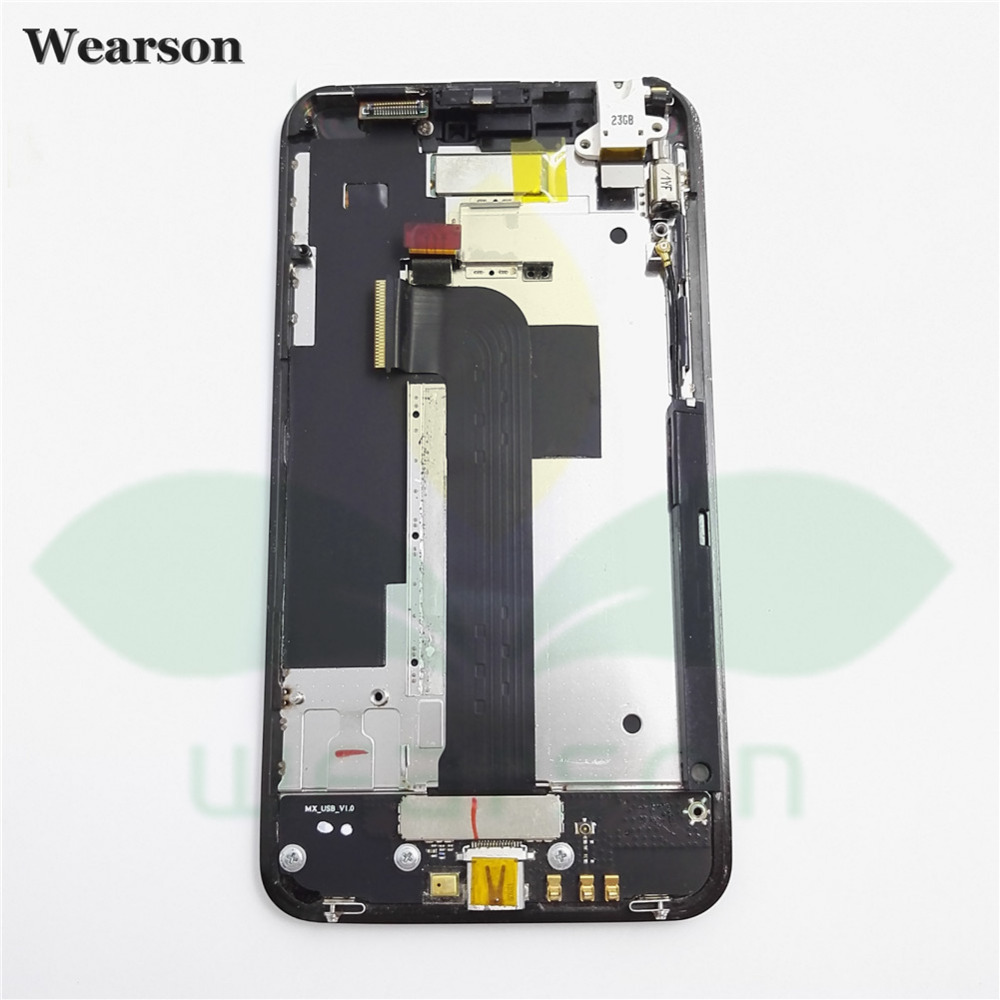 For Meizu MX M030 LCD Display With Touch Screen Digitizer Assembly With Frame Free Shipping With
