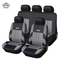 KOPOHAMEX Car Seat Covers For The Universal Size 3mm Polyester Reliable And Practical Interior Sewn Durable