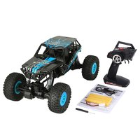 Wltoys 10428 D 1/10 RC Car Scale 2.4Ghz 4WD 18km/h High Speed RC Crawler Climbing Off Road Rock Electric RC Remote Control Car