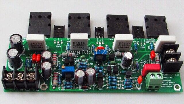 US $58 0 |finish board differential circuit reference KSA100 discrete tube  amplifier 2SA1943 2SC5200 NJW0281 NJW0302 mono amplifier board-in Amplifier