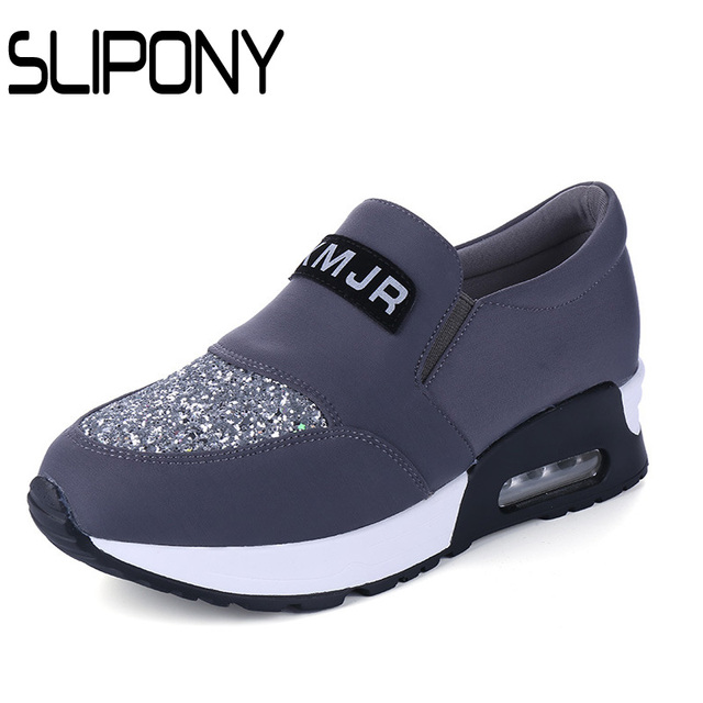 high quality slipony brand  New 2016 Fashion Women Breathable Sport Woman Shoes Casual Outdoor Walking Women Zapatillas Mujer
