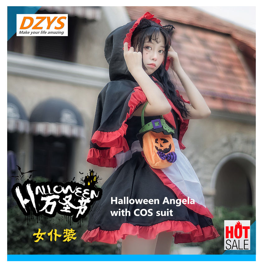 Halloween Angela with COS suit