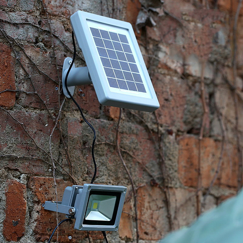 Solar Lights Roof: TAMPROAD LED Floodlight Exterior Lighting Solar Powered