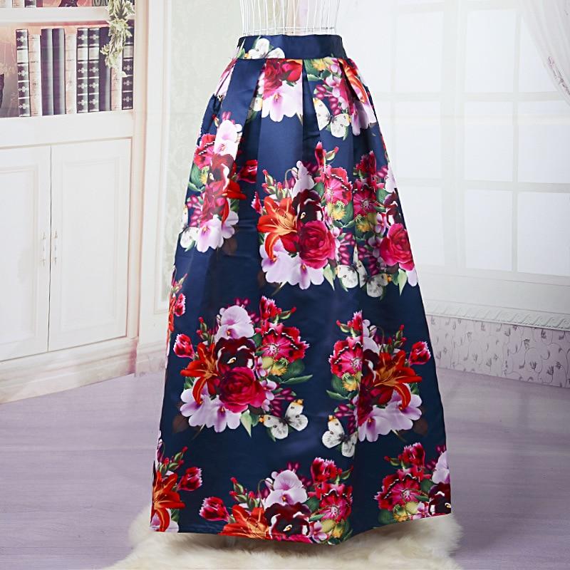 Floral Print Long Skirts Online | Jill Dress