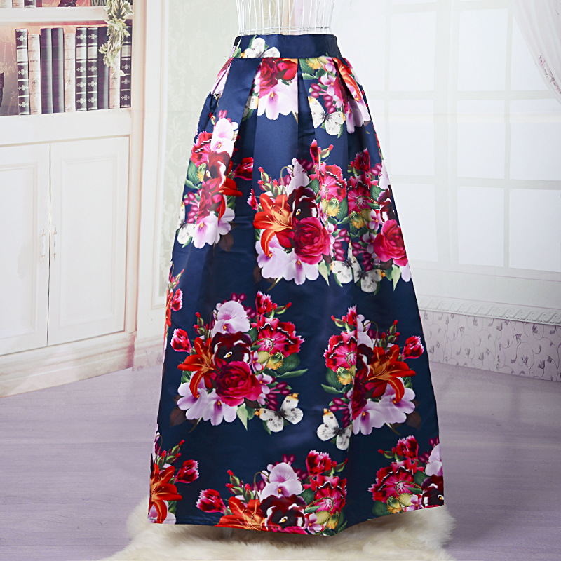 Compare Prices on Long Floral Skirt- Online Shopping/Buy Low Price ...