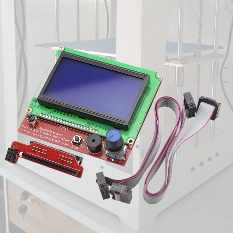 Back To Search Resultscomputer & Office Office Electronics Realistic Hot-12864 Lcd Ramps Smart Parts Ramps 1.4 Controller Control Panel For 3d Printer