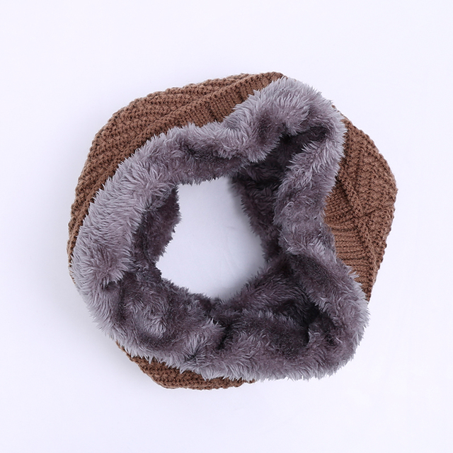 Collar Scarf Fur Trim | Men's Scarves | Up to 60% Off Now