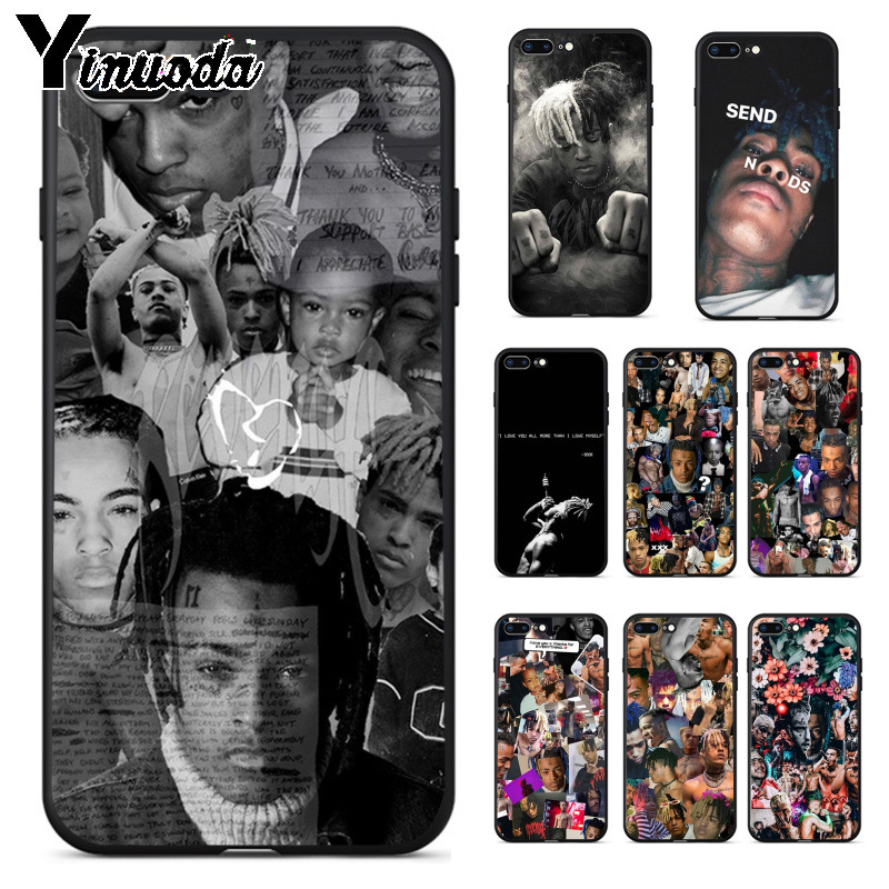 Yinuoda <font><b>XXXTentacion</b></font> Hot Selling Fashion Design Cell <font><b>Case</b></font> for Apple <font><b>iPhone</b></font> 8 7 <font><b>6</b></font> 6S Plus X XS MAX 5 5S SE XR Cover image