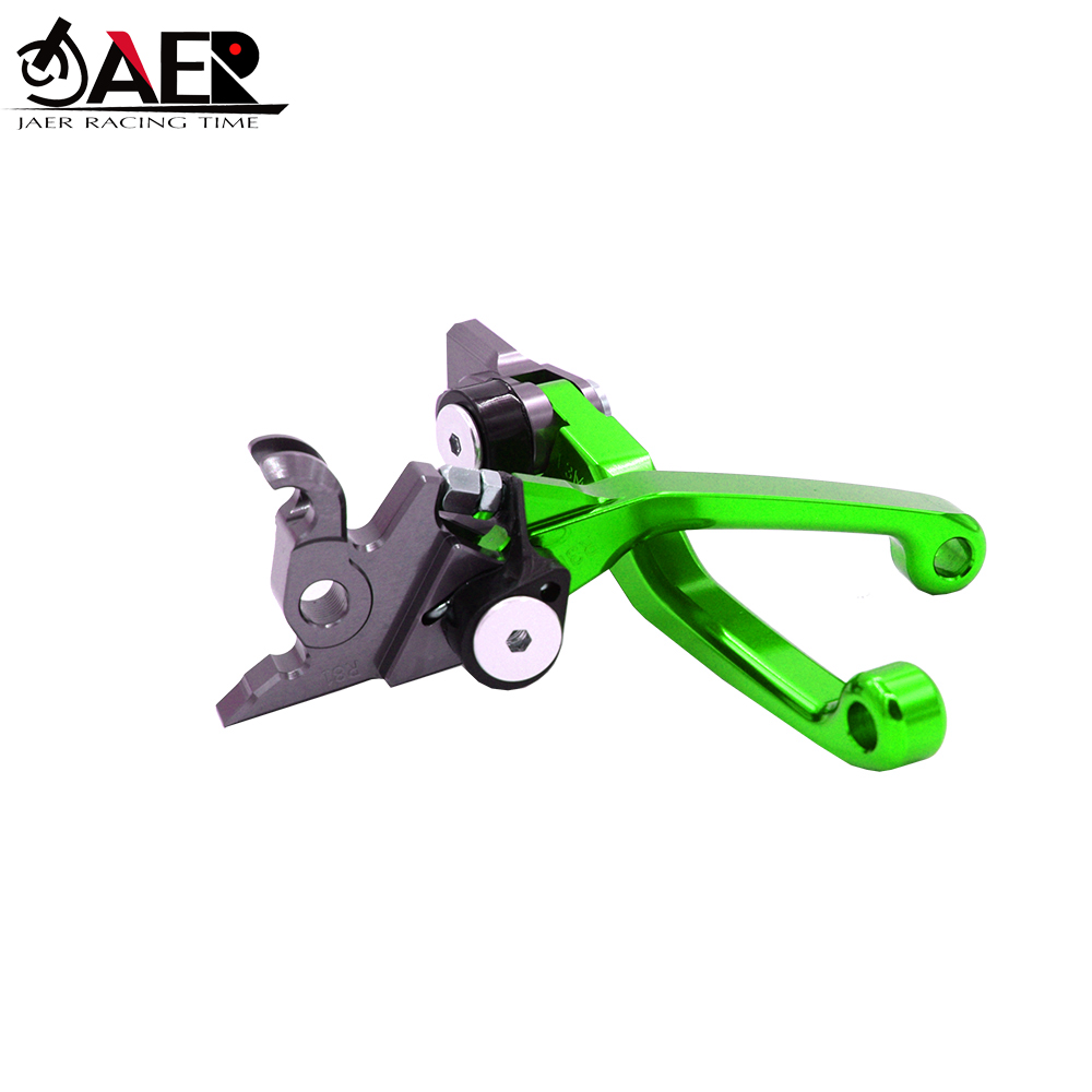 Image 2 - JAER CNC Pivot Foldable Clutch Brake Lever For Kawasaki KLX125 D TRACKER125 2010 2016 KLX250 DTRACKER 2008 2016 KLX150S 09 2013-in Levers, Ropes & Cables from Automobiles & Motorcycles