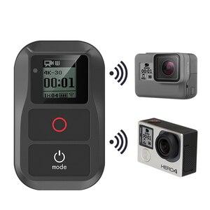 Image 1 - Go pro 8 방수 wifi 리모컨 gopro hero 8 hero 7 6 5 4 3 + 3/4 세션 5 세션 블랙 카메라 액세서리