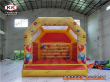 Inflatable Moon Bouncer for Re-sell, dual jumping bouncer commercial rent