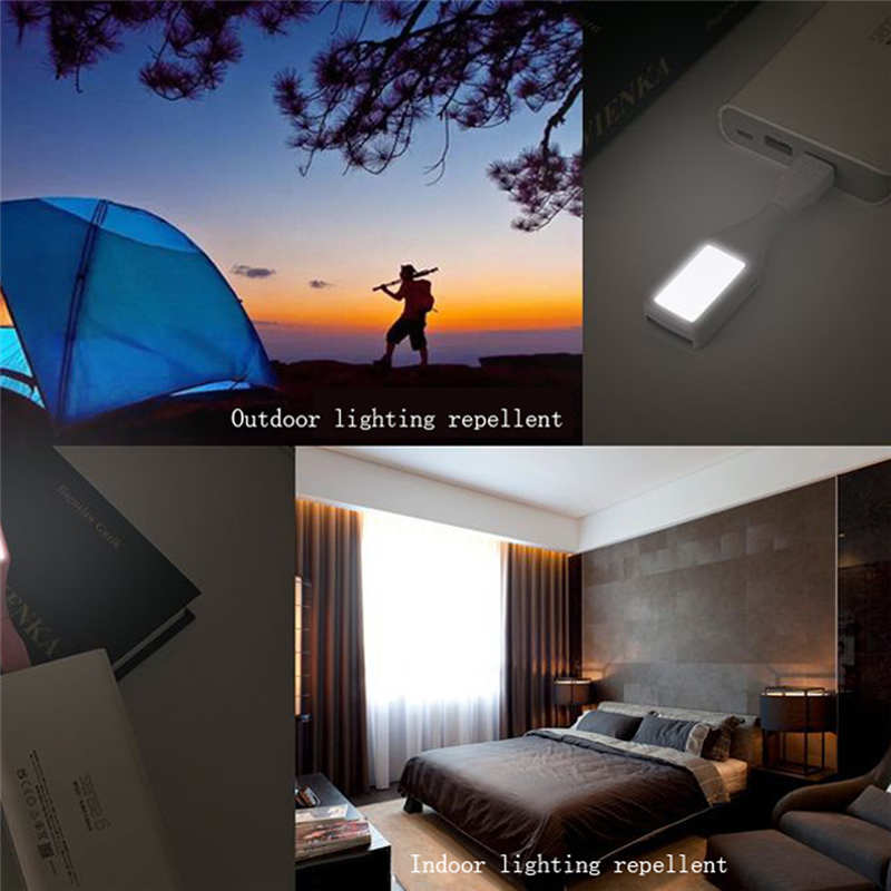 Three-in-one Outdoor Portable USB Aromatherapy Mini Led Mosquito Lamp Lighting New Rated Voltage Plastic Simple Modern 19FEB20