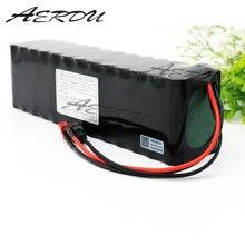 AERDU 13S4P 48 V 12.8Ah 1000 ватт литий-ионный аккумулятор для MH1 54,6 v E-электровелосипед скутер с 25A разряда BMS
