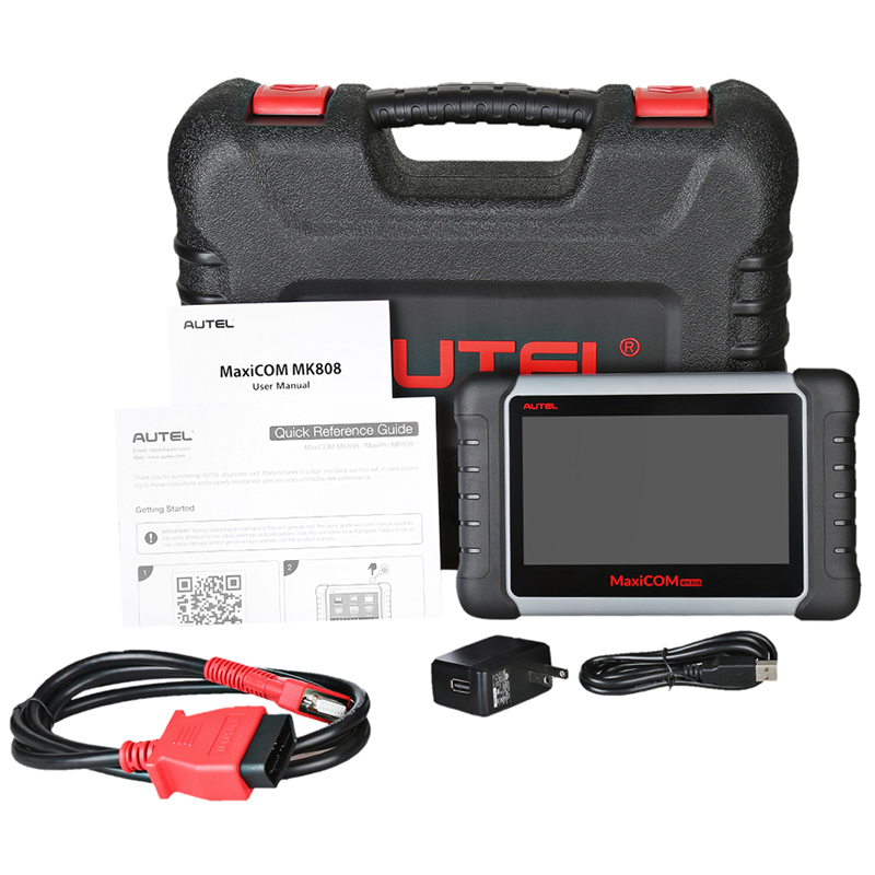 Image 5 - Autel MaxiCOM MK808 OBD2 Scanner with Oil Reset, EPB, BMS, SAS, DPF,TPMS ,key programming (MD802+MaxiCheck Pro)PK MX808-in Engine Analyzer from Automobiles & Motorcycles