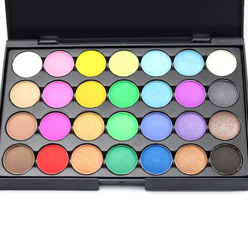 28 Women Nude Make Up Palette Cosmetic Shimmer Makeup Eye -7940