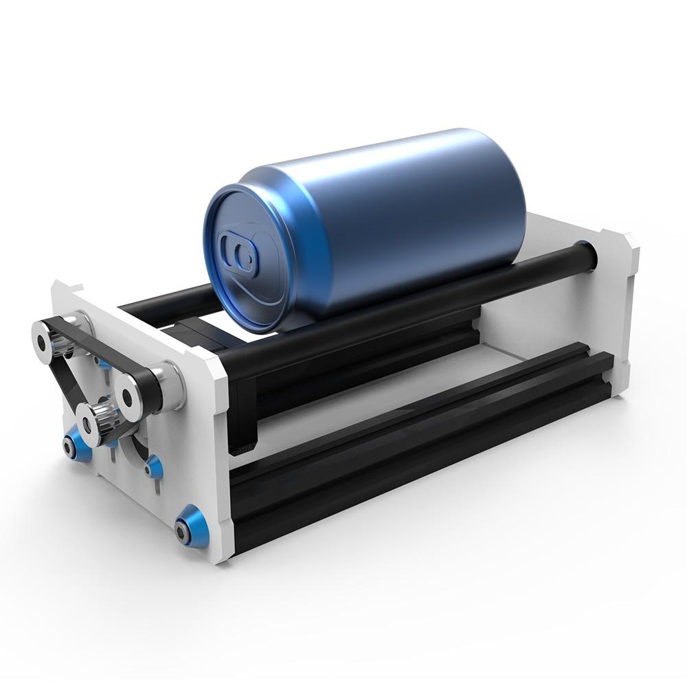 Faire pivoter le Module de gravure A3 laser graveur Machine axe Y bricolage Kit de mise à jour avec moteur pas à pas fil pour colonne cylindre gravure