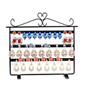 66 Holes Earrings Holder Display Stand Shelf Jewellery Organizer Container  Stand Rack For Women #43623
