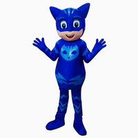 2017 New Mascot Costumes Parade Quality PJ Mask Birthdays Catboy Cosplay Costumes Suitable For Large Stage