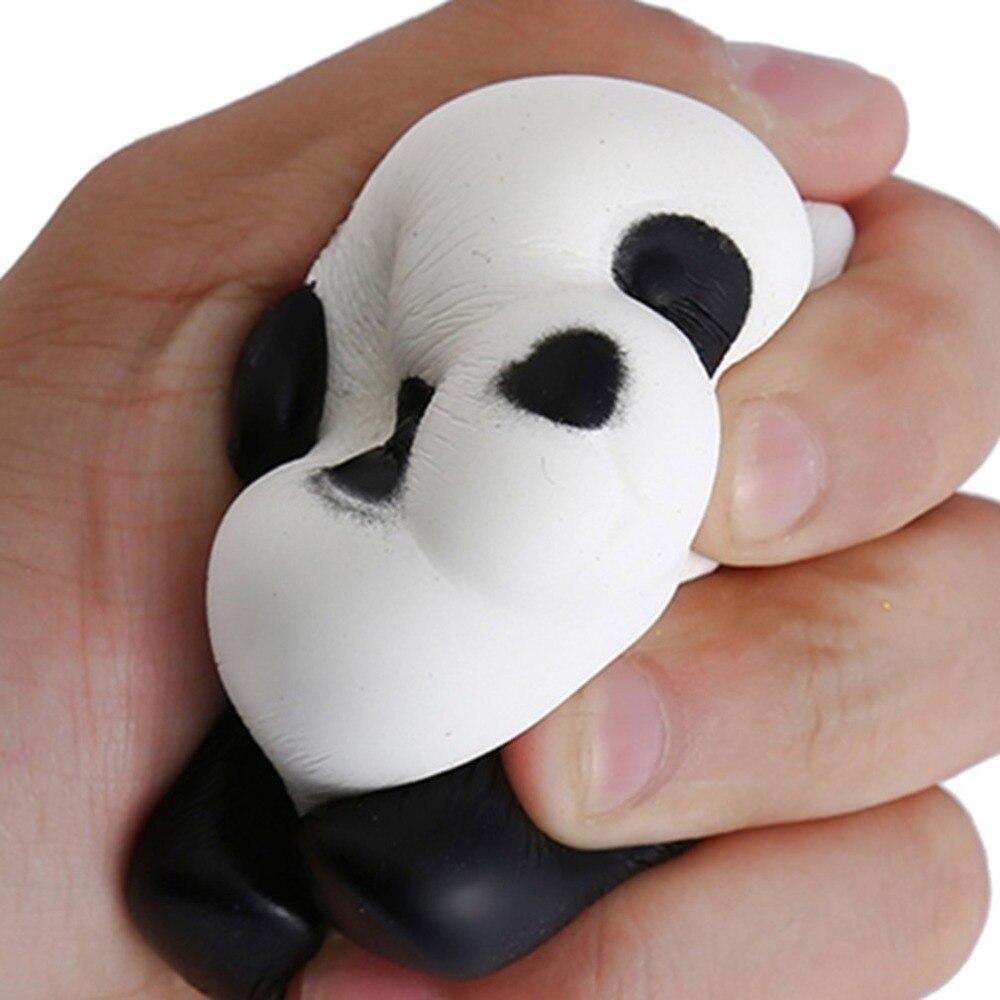 Kids Soft PU Anti-stress Cute Squishy Toys Slow Rising Squishes Panda Squishi PU Squishy Toys for Children Adults Gift Hot Sale цена 2017