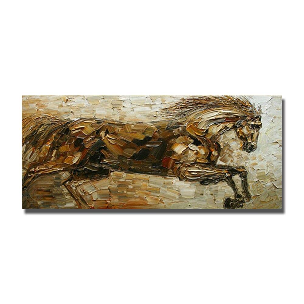 Pinturas al óleo abstractas en venta diseño del caballo pintura para ...
