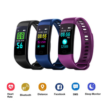 Smart Bracelet Y5 Band Activity Tracker Pedometer Watch Vibrating Alarm Clock Waterproof Heart Rate Fitness