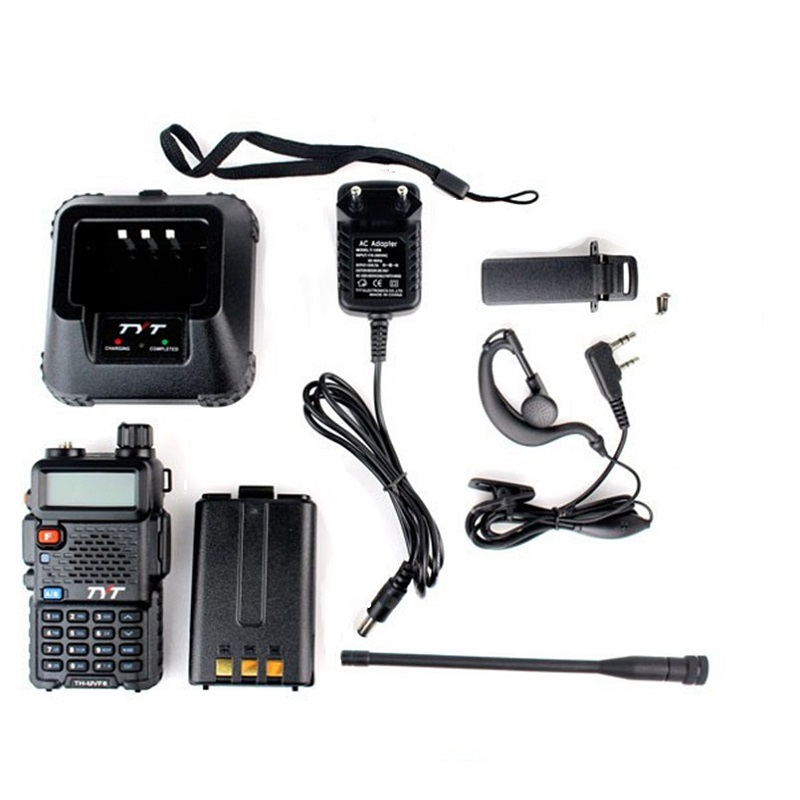 Image 5 - TYT TH UVF8 Walkie Talkie VHF & UHF 136 174 & 400 480MHz 256CH DTMF 8 Group Scrambler Dual Display Dual Standby Two Way Radio-in Walkie Talkie from Cellphones & Telecommunications
