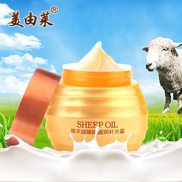 Óleo Sheep Lanolina Creme Para o Rosto de Clareamento Anti-Envelhecimento Anti Rugas Hidratante Nutritivo Hidratante Iluminar Creme de Beleza do Cuidado Da Pele