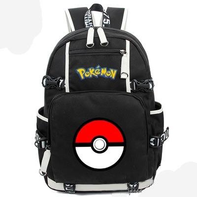 Nouveau jeu Pokemon Go sac à dos toile sac cartable sacs de voyage