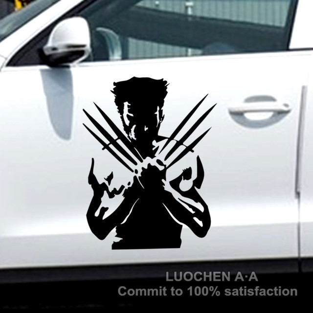 Car stickers wolf x men origins wolverine king kong creative decals waterproof auto tuning styling