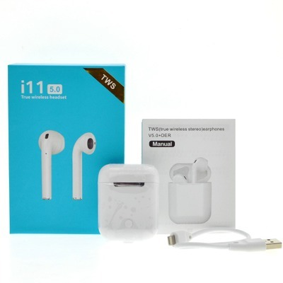Original New Handsfree Headphones i10 tws i9s i11TWS Bluetooth Earphone  5