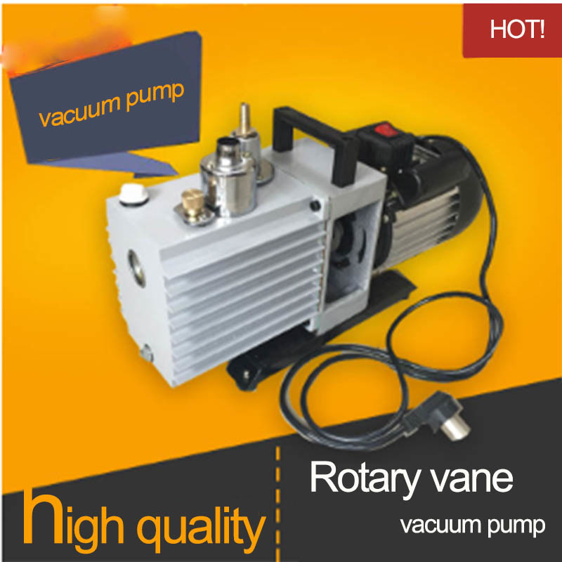 2L/S 110V/220/380 Two Stage Structure Rotary Vane Mini Electric Vacuum Pump