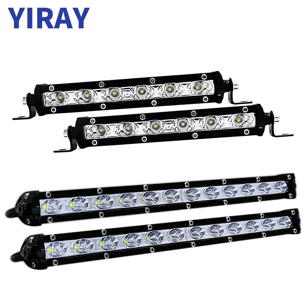 YIRAY 7 Inch 13 Inch 18W 36W Combo LED Work Light LED Bar Light for motorcycles Driving Offroad Boat Car Tractor Truck 4x4 SUV in Light Bar Work Light from Automobiles Motorcycles