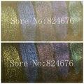 100g Mezcló 5 colores Sirena Polvo de Uñas Blanco Sinfonía Polvo de Maquillaje Sombra de Ojos Pintura Tinte Jabón Pigmento de Mica polvo