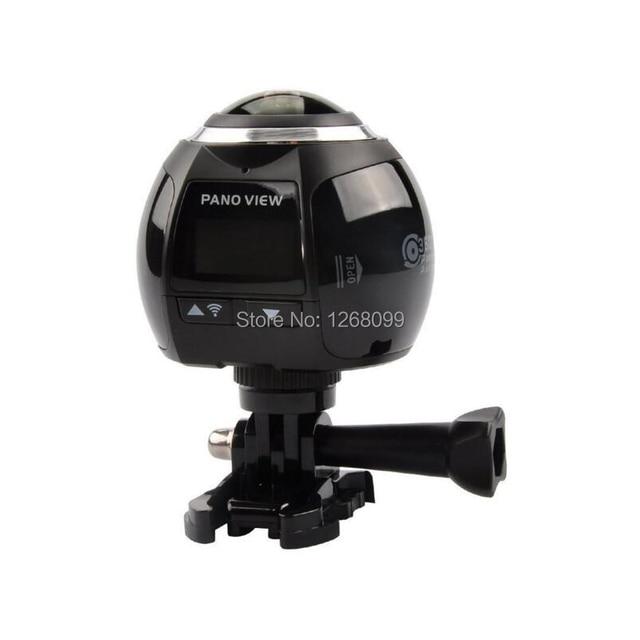 2017 New 4K WiFi 360 Panoramic Camera Outdoor Sports Camera Waterproof Camera Diving Camera