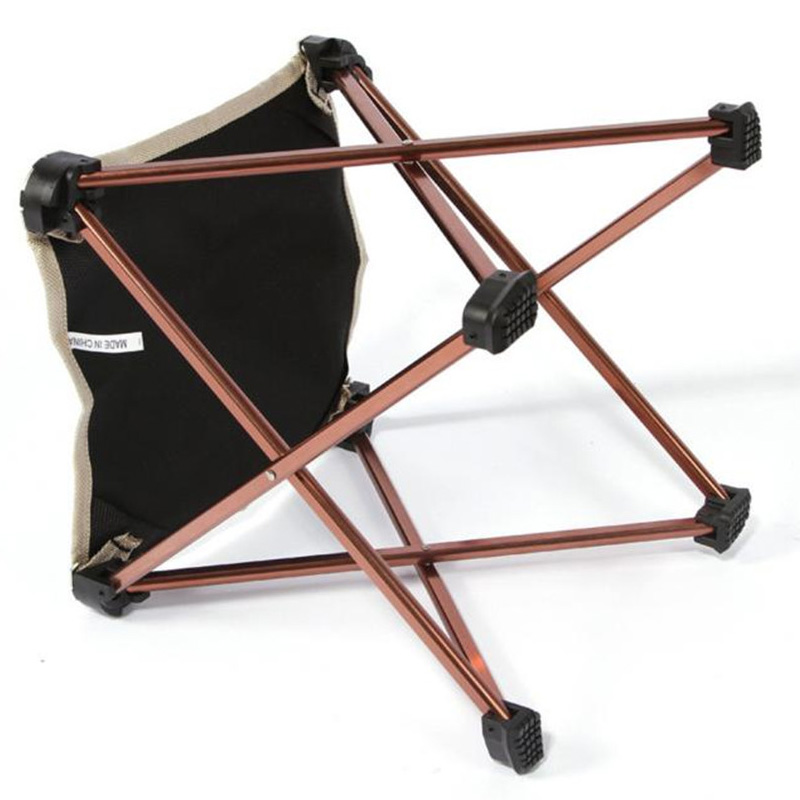 Wholesale! AOTU Outdoor Folding Fold Aluminum Chair Stool Seat Fishing Camping