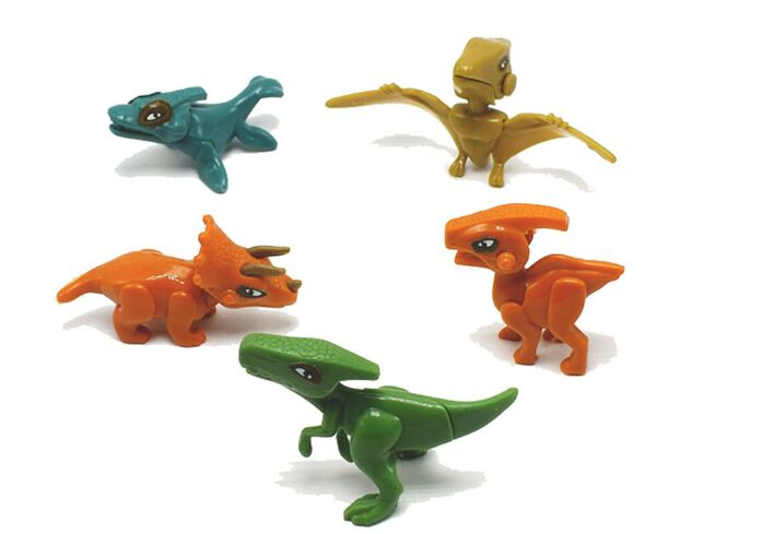 4pcs/lot Handwork Jurassic Dinosaur World Of Park Toys For Kids Early Education Toys Models Building Blocks Bricks Toys figures
