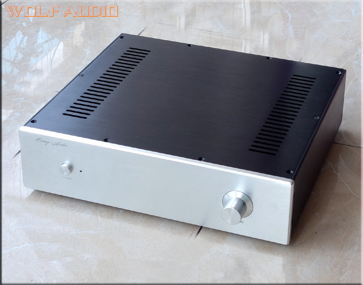 Здесь продается  WF3609 Air-cooled Cooling Aluminium Amplifier Chassis Enclosure Preamp Case DIY Box 360x92x307mm  Бытовая электроника