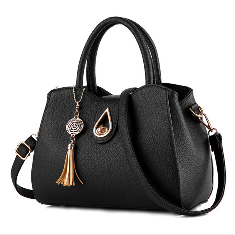 ФОТО COOL WALKER Elegant Fashion Leather Women Messenger Bags Handbags Women Famous Brands Shoulder Crossbody Bag High Quality Tote