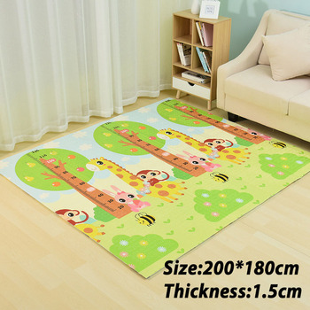 Infant Shining Baby Mat Playmat Kids Carpet Baby Play Mat 200*180*1cm Foam XPE Puzzle Game Pad for Infants Educational Soft Mat Other Infant Toys
