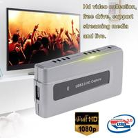 ALLOYSEED USB3.0 1080P HDMI Video Capture Card Box Live Streaming HDMI Capture Dongle support streaming media and live broadcast