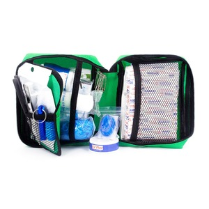Image 2 - Mini botiquín de primeros auxilios portátil, resistente al agua, bolsa de primeros auxilios para coche, hogar, viaje, senderismo, Camping, Kits de emergencia al aire libre, 220 Uds.