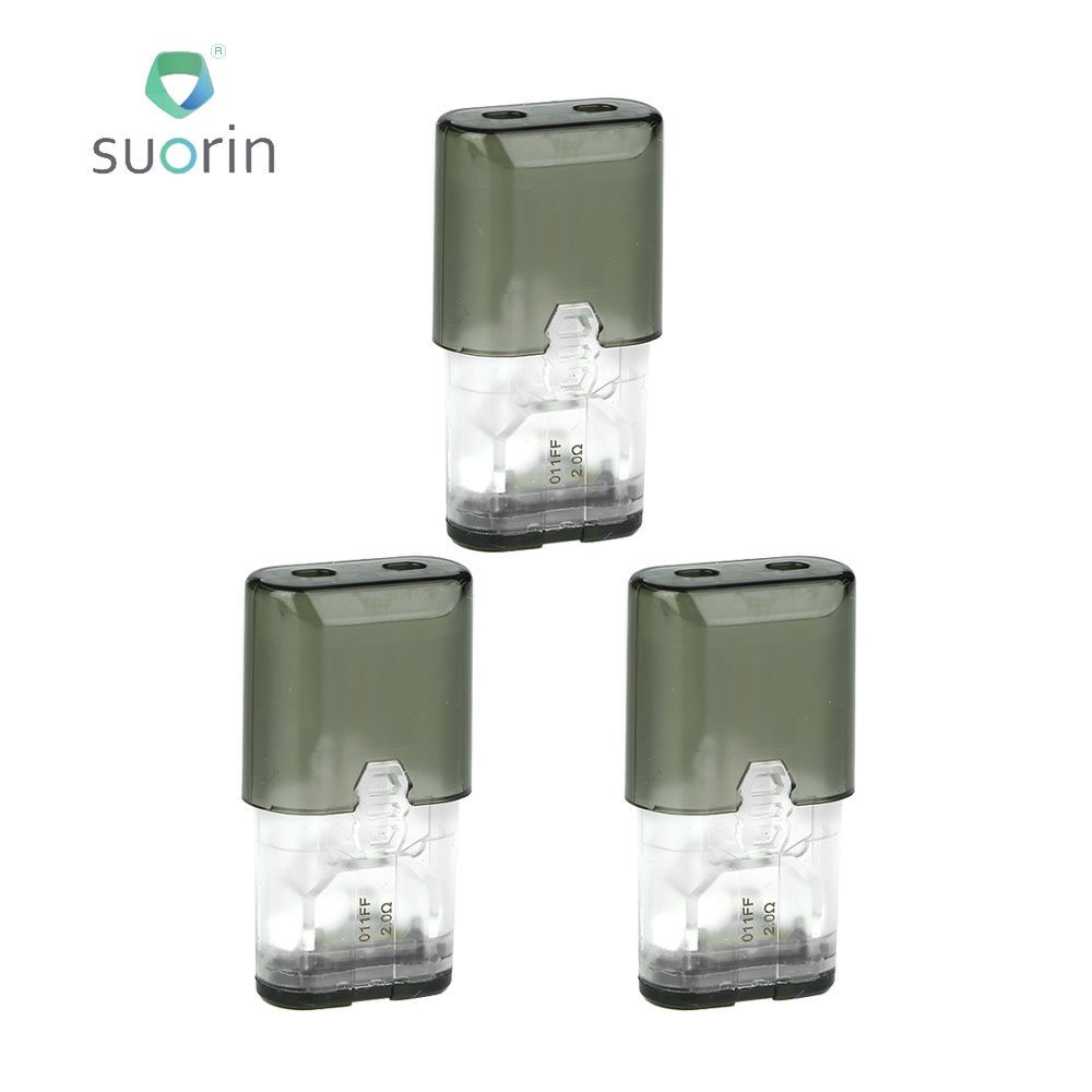 Original 3pcs Suorin IShare Cartridge 0.9ml Capacity E-cig Vape Spare Part Designed For IShare And IShare Single