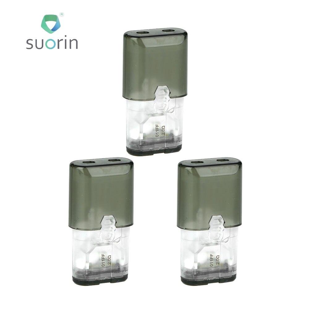 Originale 3 pz Suorin IShare Cartuccia 0.9 ml Capacità E-cig Vape Pezzo di Ricambio Progettato per IShare e IShare singolo