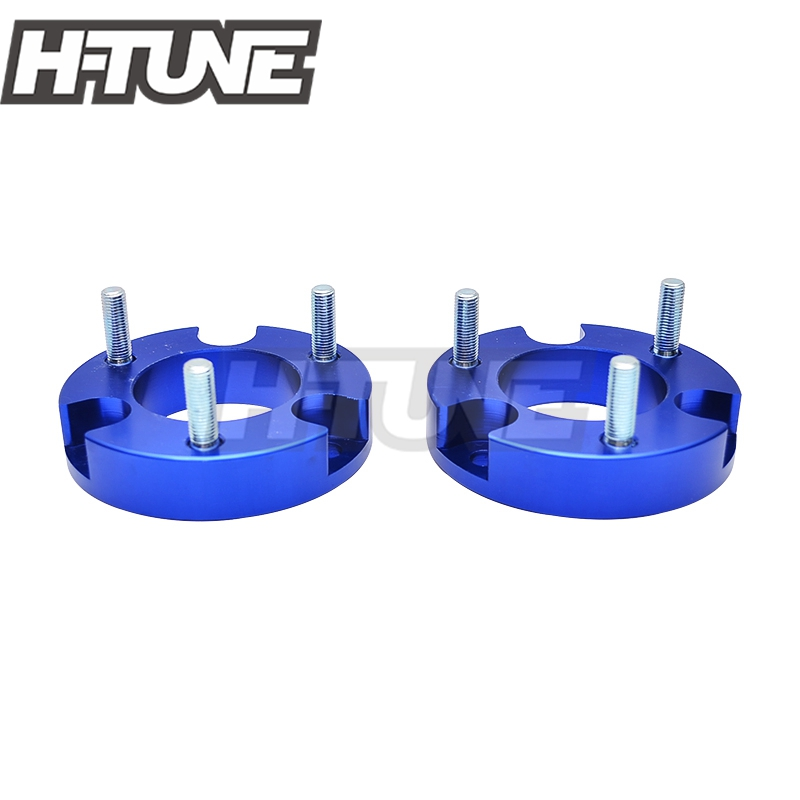 H TUNE 4x4 Accesorios 25mm Aluminum Front Coil Strut Shock Spacer Lift Kits for Ranger T6