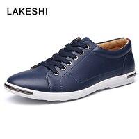 Hot Sale Men Flats Shoes Fashion New Brand Casual Shoes Male Plus Size Comfortable Men Shoes